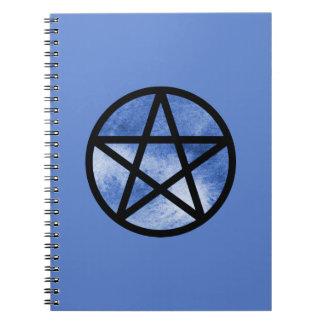 Cuaderno azul del pentáculo