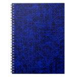 """Cuaderno azul del """"rasguño"""""""