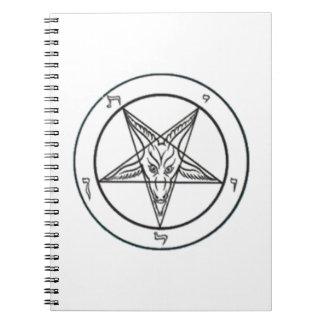 Cuaderno blanco de Baphomet