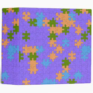 Cuaderno bonito del modelo del rompecabezas