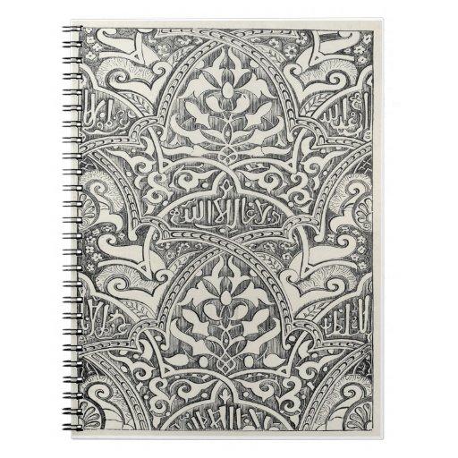 Cuaderno - Bookplate antiguo