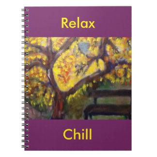 Cuaderno brillante