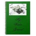 Cuaderno calmante del diario
