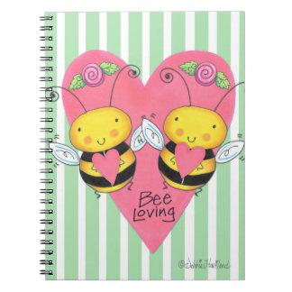 Cuaderno cariñoso de la abeja