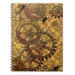 Cuaderno clásico de Steampunk del moreno