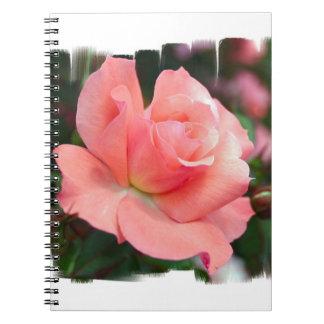 Cuaderno color de rosa rosado