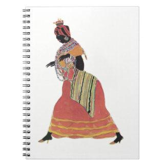 Cuaderno colorido de Baiana
