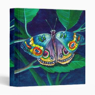 cuaderno colorido de la mariposa