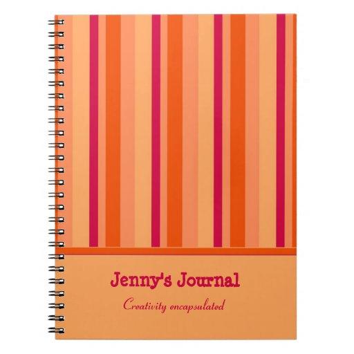 Cuaderno colorido lindo del arándano del diseño de