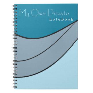 Cuaderno colorido personalizado