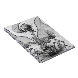Cuaderno compañero del arte del monstruo del horro