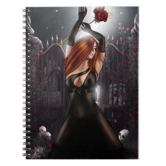 Cuaderno con fota Juliette