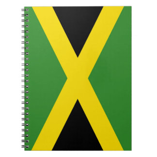 Cuaderno con la bandera de Jamaica