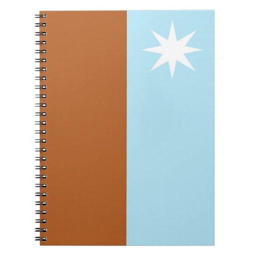 Cuaderno con la bandera de la república de Murrawa