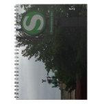 Cuaderno con la puerta de Brandeburgo, Berlín