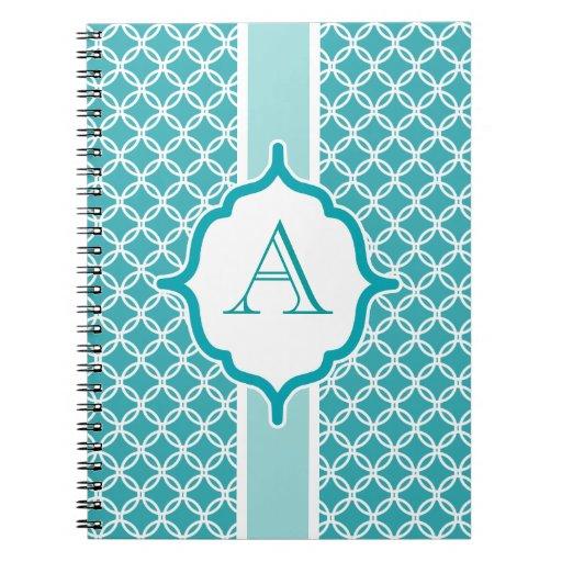Cuaderno con monograma del trullo