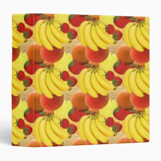 """Cuaderno con sabor a fruta de la FRUTA Carpeta 1 1/2"""""""