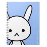 Cuaderno - conejo - SkyBlue
