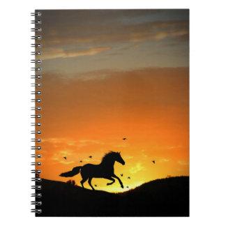 Cuaderno corriente del caballo