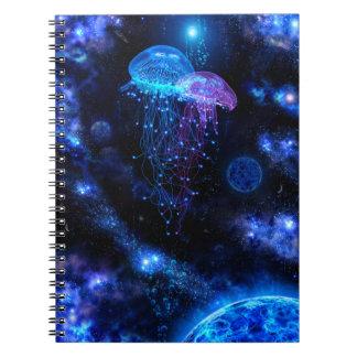 Cuaderno cósmico de las medusas