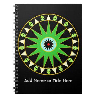 Cuaderno cósmico de LGM
