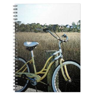 Cuaderno costero de la bicicleta