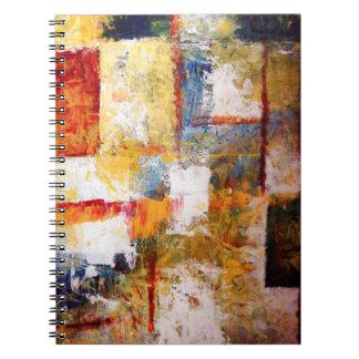 Cuaderno creativo del arte abstracto