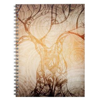 Cuaderno creativo del diseño