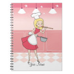 Cuaderno culinario del chica