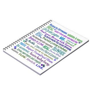 cuaderno curativo de las palabras