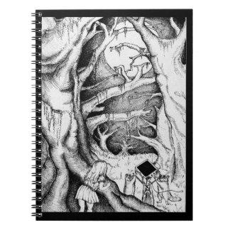 Cuaderno dañoso del mapache