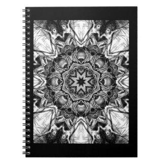 Cuaderno de acopio oscuro