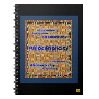 Cuaderno de AfriMex Urbano Afrocentricity Kente