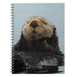 Cuaderno de Alaska de la nutria de mar