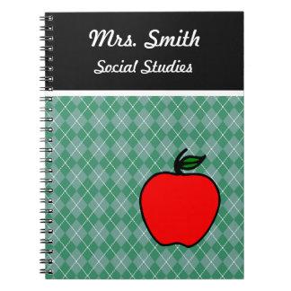 Cuaderno de Apple del profesor modificado para req