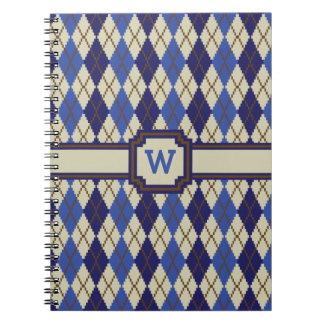 Cuaderno de Argyle del Scone del arándano