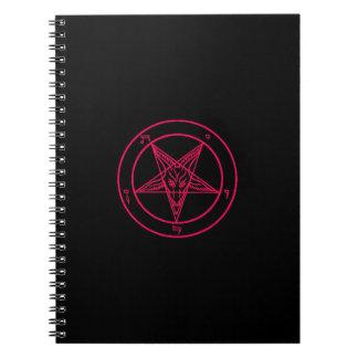 Cuaderno de Baphomet del negro/de las rosas