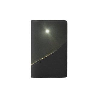 Cuaderno de bolsillo de Moleskine de la Luna Llena Funda Para Libreta Y Libreta Pequeña Moleskine