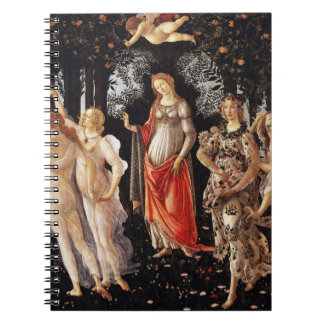 Cuaderno de Botticelli Primavera