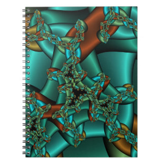 Cuaderno de cadena loco del fractal
