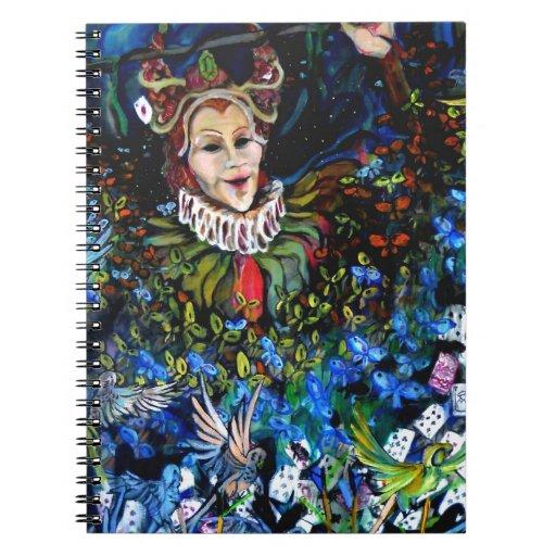 """Cuaderno de """"Carnivale"""" de Thompson Kellett"""