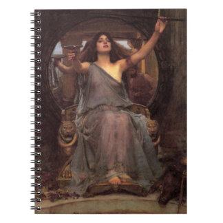 Cuaderno de Circe del Waterhouse