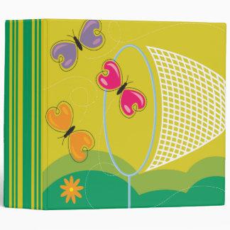 cuaderno de cogida de las mariposas