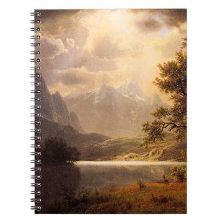 Cuaderno de Colorado del parque de Bierstadt Estes