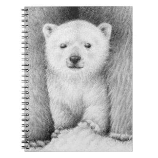 Cuaderno de Cub del oso polar