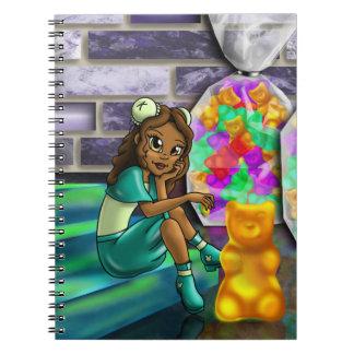 """Cuaderno """"de Darla gomoso dulce del oso"""""""