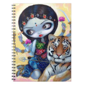 Cuaderno de Durga y del tigre