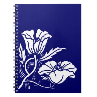 Cuaderno de encargo de la amapola de Nouveau del c