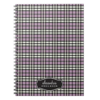 Cuaderno de encargo de la tela escocesa de muy