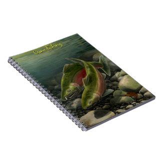 Cuaderno de encargo del arte de los salmones de Co